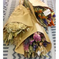 Bouquet fleurs séchées large - 8 à 10 tiges
